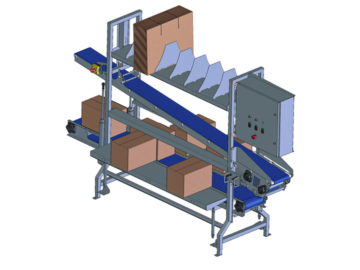 Packaging tables for shrimp industry, Martak: fishery industry machinery