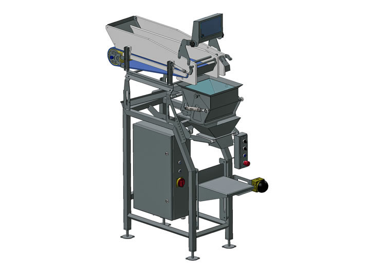 Packaging scales for shrimp industry, Martak: Fishery industry machinery